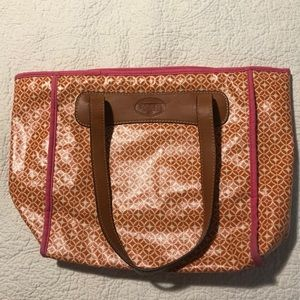 Fossil Tote and Wallet Bundle